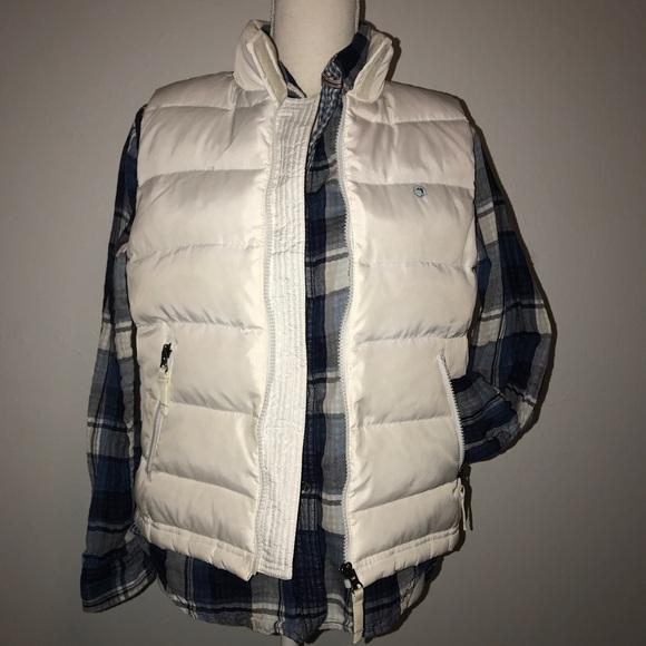 Duck Head Jackets & Blazers - White Puffy Duck Head Vest